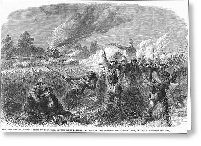 Civil War: Hainesville Greeting Card