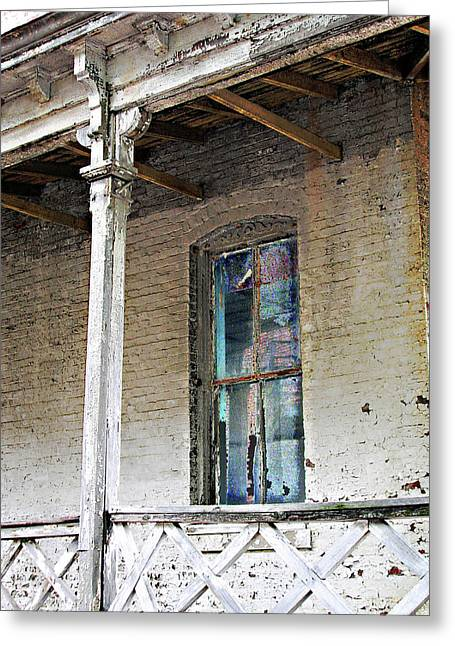 Greeting Card featuring the photograph Civil War Hospital Memphis by Lizi Beard-Ward