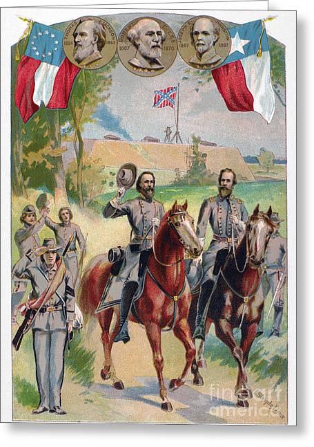 Civil War: Uniforms Greeting Card