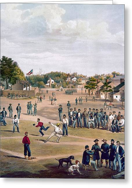 Civil War: Union Prisoners Greeting Card by Granger