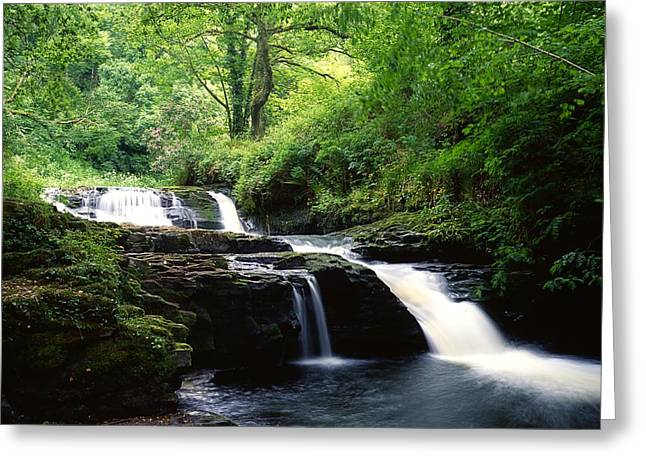 Clare Glens, Co Limerick, Ireland Irish Greeting Card by The Irish Image Collection