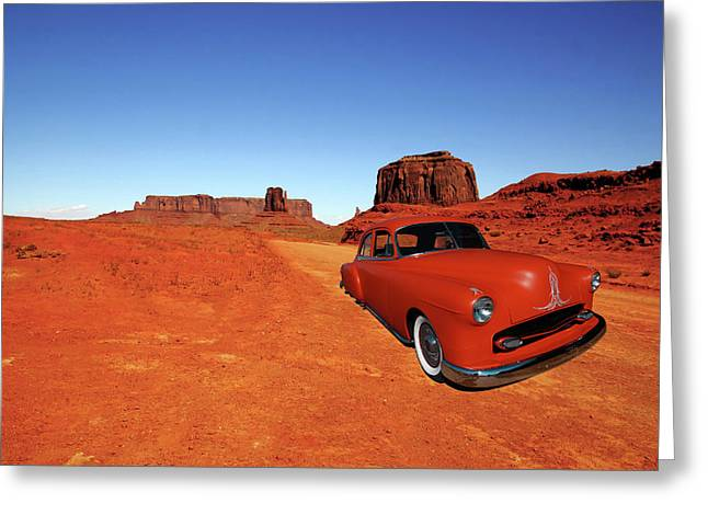 Greeting Card featuring the photograph Clashing With Nature by Bill Dutting