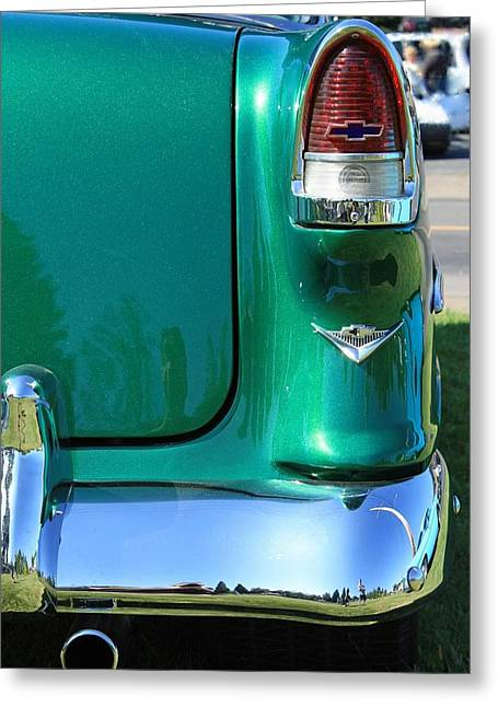 Greeting Card featuring the photograph Classic Chevy by Tyra  OBryant