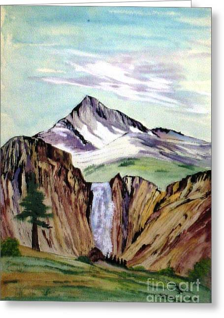 Classic Cliffs Of Splendor Greeting Card