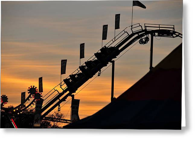 Classic Coaster Greeting Card by David Lee Thompson