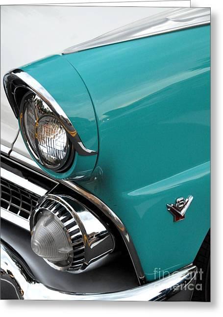 Classic Ford Greeting Card by John Black