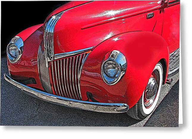 Classic Ford Pickup 1 Greeting Card