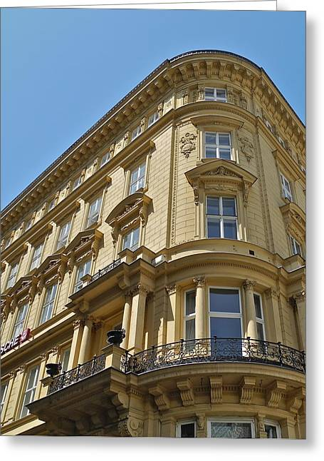 Greeting Card featuring the photograph Classical Architecture In Vienna by Kirsten Giving