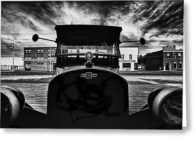 Classy Chassis Greeting Card by Russell Styles