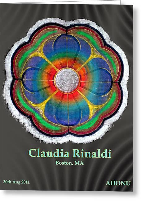 Claudia Rinaldi Greeting Card