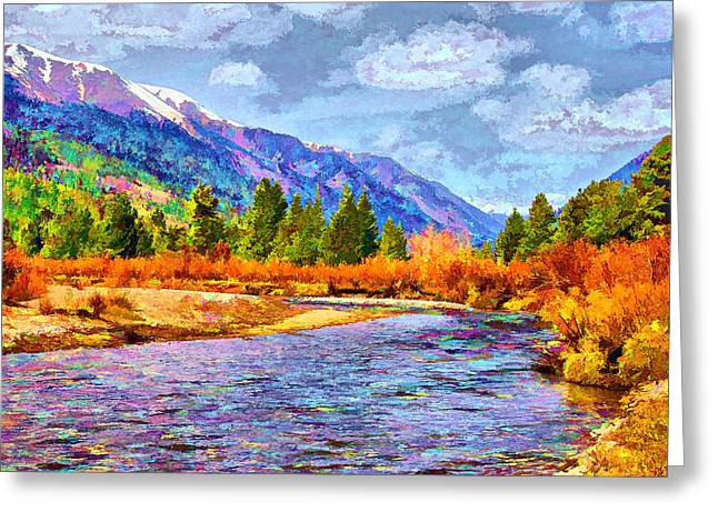 Clear Creek Vista Greeting Card