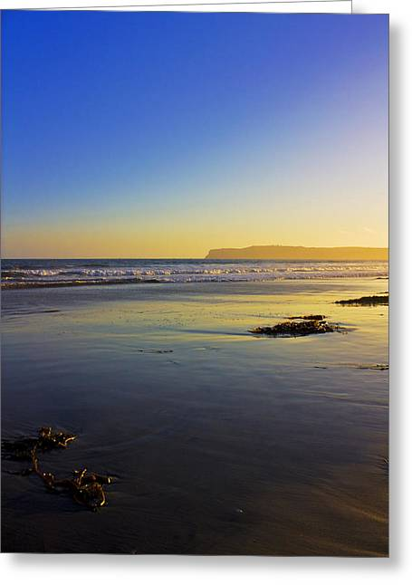Clear Sunset Greeting Card