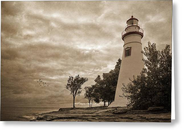 Clearing Storm Greeting Card by Dale Kincaid