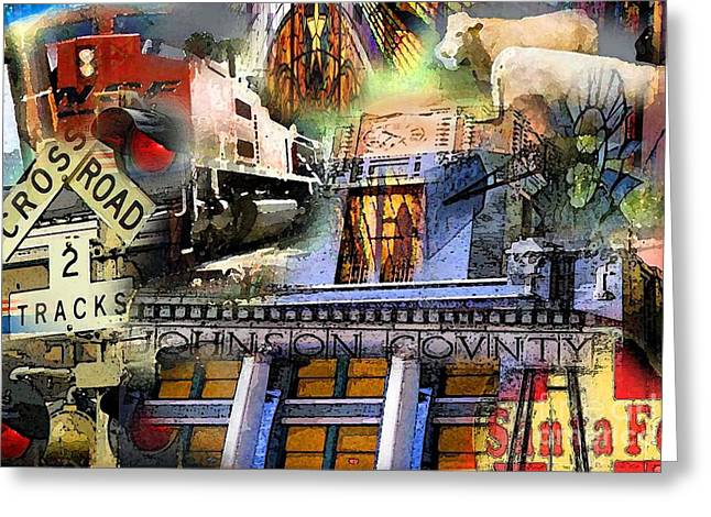Cleburne  Texas Greeting Card by David Carter