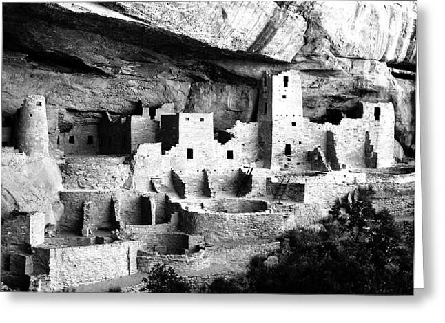 Cliff Palace Greeting Card by John Wunderli