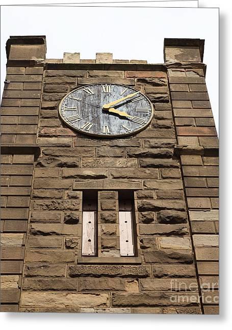 Clock Tower 1859 - Benicia California - 5d18611 Greeting Card