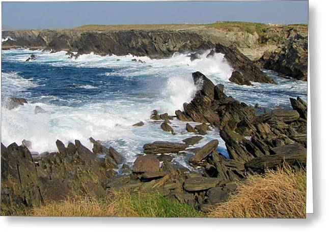 Greeting Card featuring the photograph Clogher by Barbara Walsh