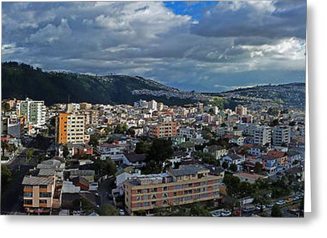 Close Of Business - Quito - Ecuador Greeting Card