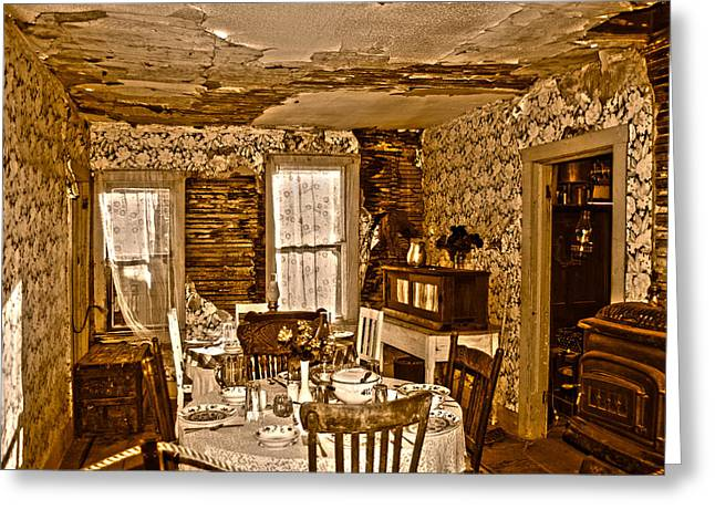 Greeting Card featuring the photograph Closed For Renovations by Judy Hall-Folde