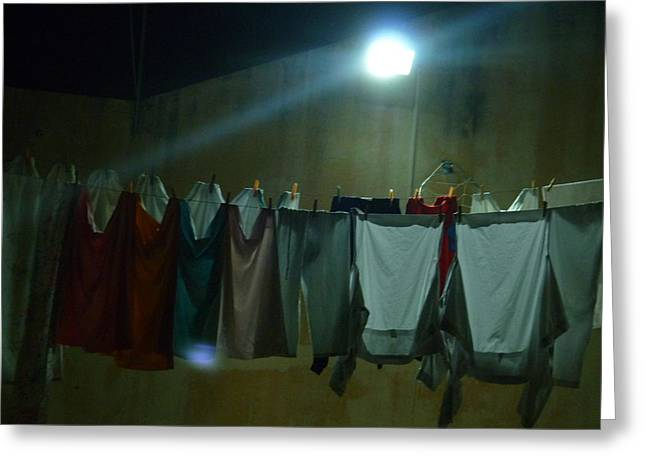 Greeting Card featuring the photograph Clothes 1 by Beto Machado