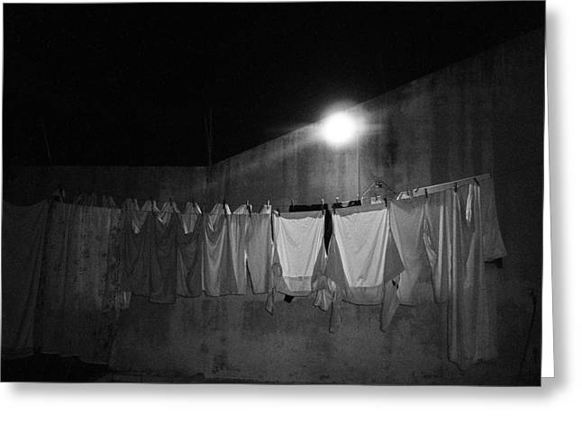 Greeting Card featuring the photograph Clothes 2 by Beto Machado