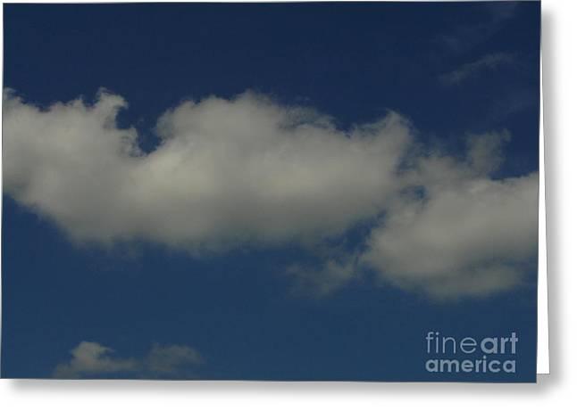 Cloud 005 Greeting Card by Lyle Bonn
