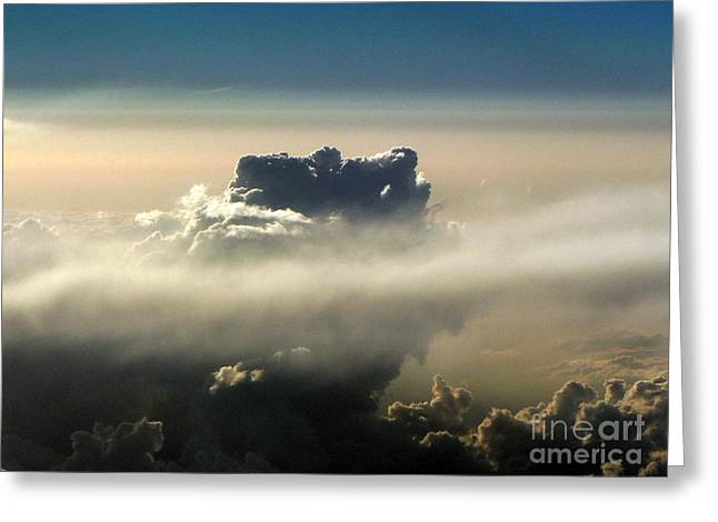 Cloud Series 5 Greeting Card by Elizabeth Fontaine-Barr