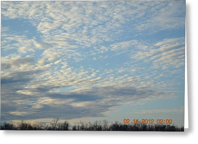 Clouds Before A Storm Greeting Card by Heidi Frye