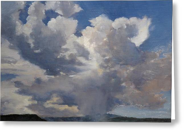 Cloudscape Greeting Card by Victoria  Broyles