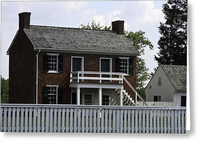 Clover Hill Tavern Kitchen Appomattox Virginia Greeting Card