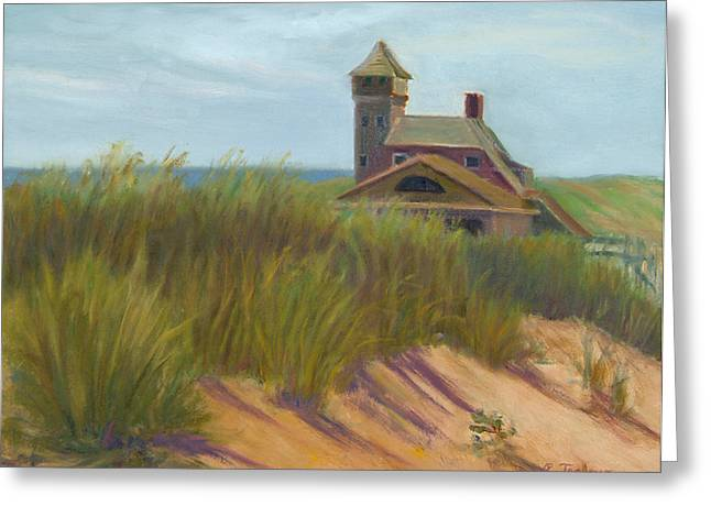 Coast Guard Beach Cape Cod Greeting Card by Phyllis Tarlow