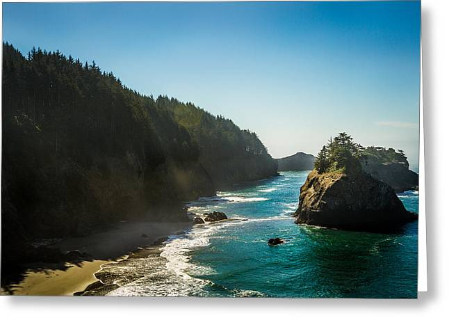 Greeting Card featuring the photograph Coastal Bliss by Randy Wood