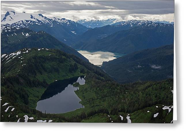 Coastal Range Tranquility Greeting Card by Mike Reid
