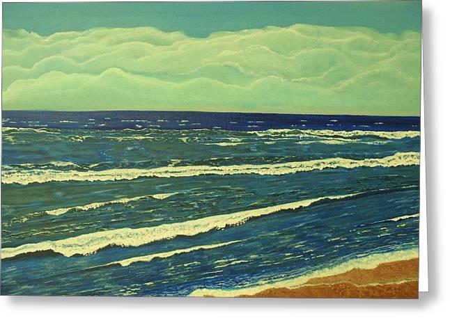 Coastal View Greeting Card
