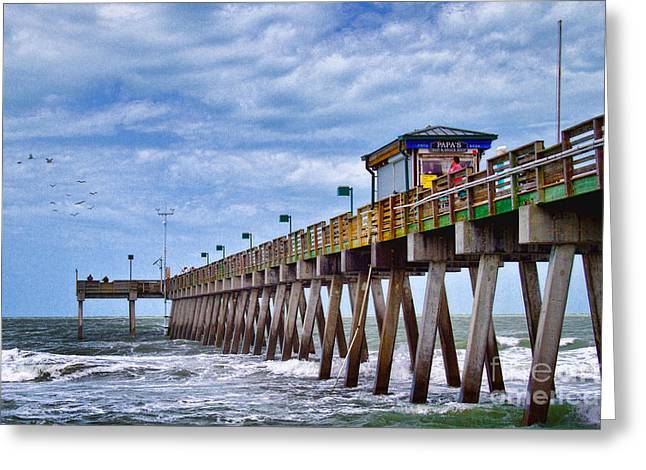 Greeting Card featuring the photograph Coastal Waves by Gina Cormier