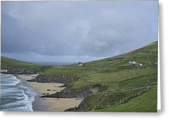 Greeting Card featuring the photograph Coastline  by Hugh Smith
