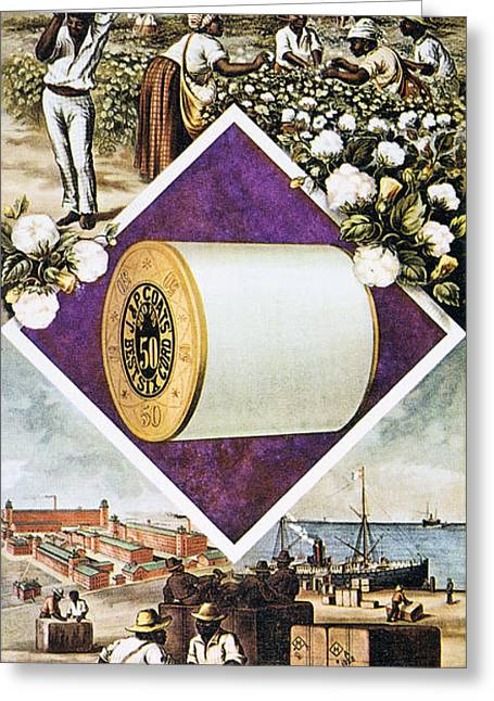 Coats Thread, C1880 Greeting Card by Granger