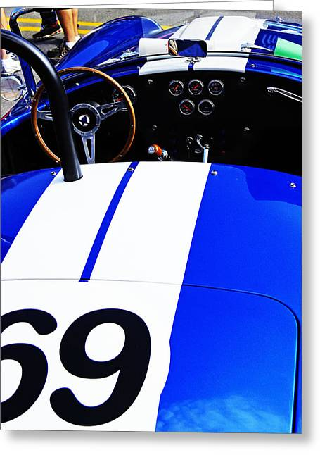 Greeting Card featuring the photograph Cobra by Randall  Cogle