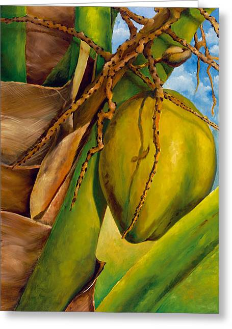 Coconuts Serie 2 Greeting Card by Jose Romero