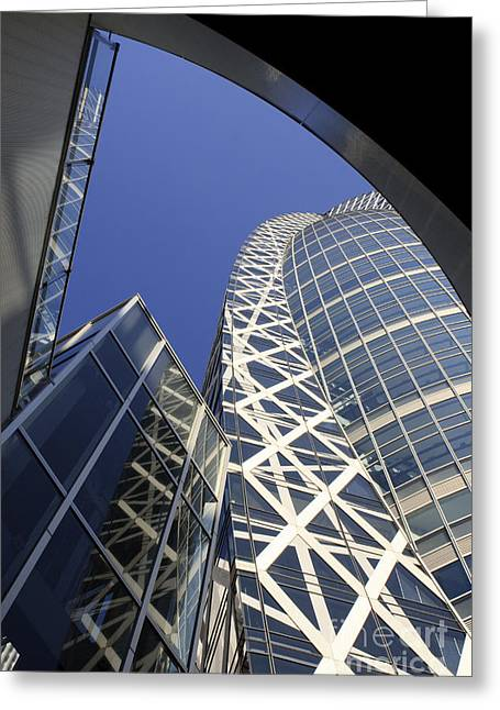 Cocoon Tower Greeting Card