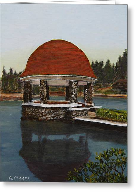 Cogshall Bandstand Greeting Card