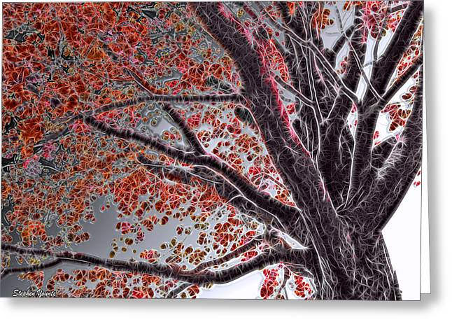 Cold Autumn Greeting Card