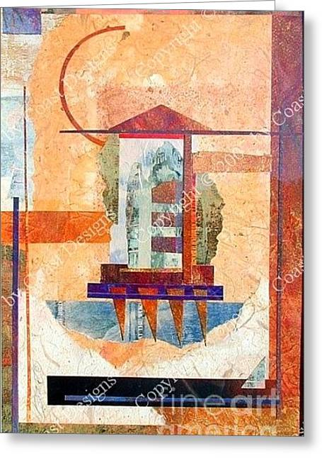 Collage 1 Greeting Card