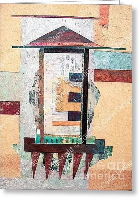 Collage 3 Greeting Card
