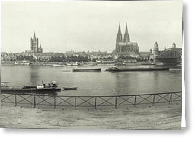 Cologne - Germany - C. 1921 Greeting Card by International  Images