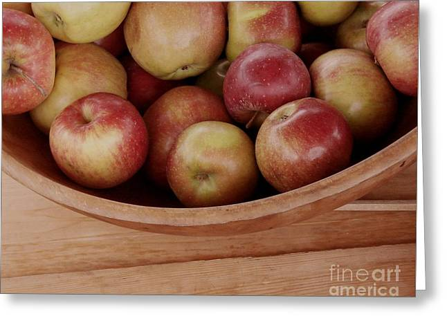 Colonial Apples Greeting Card