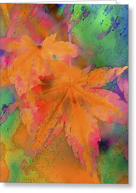 Color 119 Greeting Card by Pamela Cooper