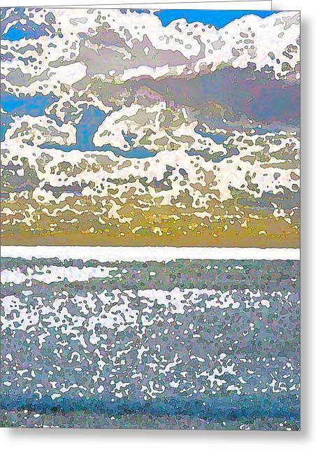 Color 63 Greeting Card by Pamela Cooper