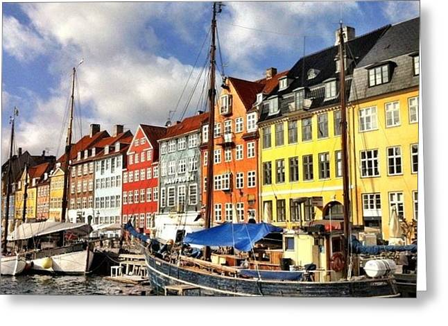 Color In Copenhagen Greeting Card