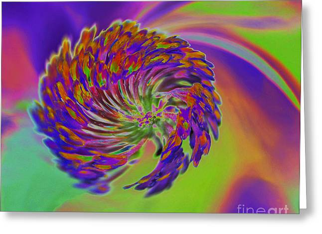 Greeting Card featuring the photograph Color Splash by Cindy Manero